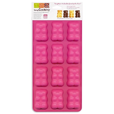 ScrapCooking Silicone Chocolate Mould, Teddy Bears