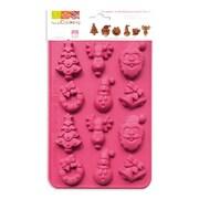 ScrapCooking - Moules à chocolats en silicone 100 % platine