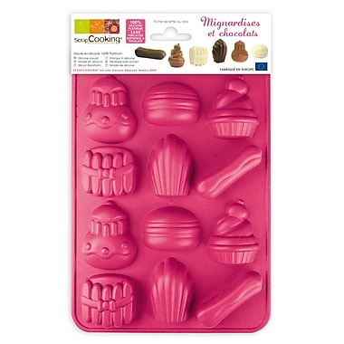 ScrapCooking Silicone Chocolate Mould, Chocolate Sweets