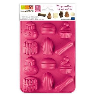 ScrapCooking – Moule à chocolat en silicone, bonbons au chocolat