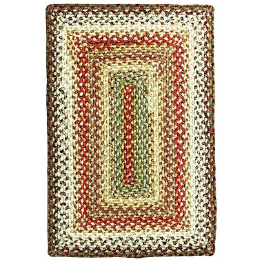 Homespice Decor Cotton Braided Bosky Area Rug; 4' x 6'