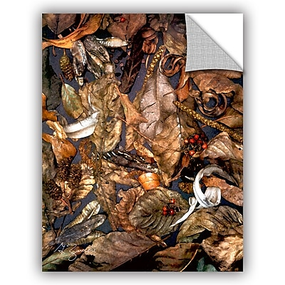 ArtWall Autumn Sonata by George Zucconi Art Appeelz Removable Wall Mural; 32'' H x 24'' W x 0.1'' D