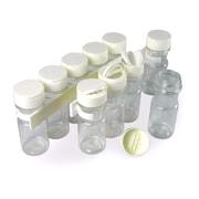 Spicestor 10 Jar Spice Jar & Rack Set