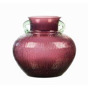 Qualia Glass Zanzibar 10.5'' Urn Vase