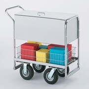 Charnstrom Security Medium File Cart; Air Caster / Tire