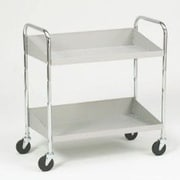 Charnstrom 2 Shelf Tote Utility Cart