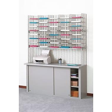 Charnstrom 40 Pocket Triple Organizer; 48.38'' H x 60'' W x 12'' D