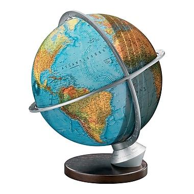 Columbus Globe Marco Polo Illuminated Desktop Globe w/ Wood Base
