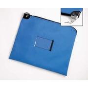 Charnstrom Heavy Duty Vinyl Mail Bag w/ Built in Lock (keyed alike); 18 inch H x 22 inch W by
