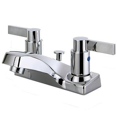 Kingston Brass Double Handle Centerset Lavatory Bathroom Faucet w/ Pop-UP Drain