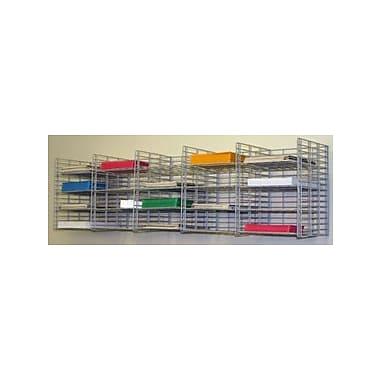 Charnstrom 20 Pocket Wall Hanging Single Sorter; 3'' H x 11'' W x 12'' D