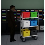Charnstrom Tall Medium Tote File Cart
