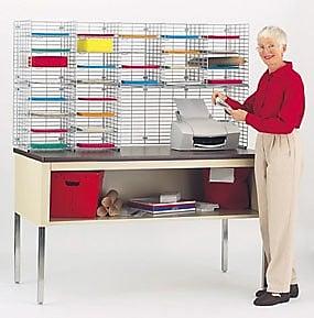 Charnstrom 28 Pocket Double Organizer; 32.25'' H x 60'' W x 15'' D
