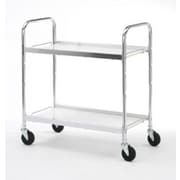 Charnstrom Medium 2 Shelf Utility Cart