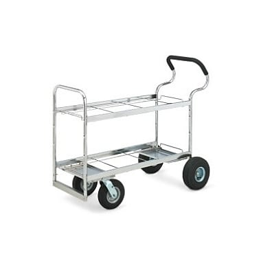 Charnstrom Ergo File Cart; Air Casters / Tires