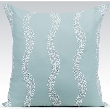Gracious Living Ashley Throw Pillow; Charlotte Blue