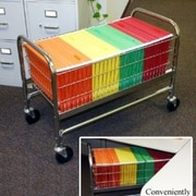 Charnstrom Long Roll Away File Cart