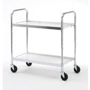 Charnstrom Long 2 Shelf Utility Cart