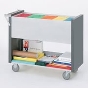 Charnstrom Long File Cart w/ Casters