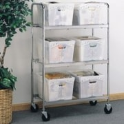 Charnstrom 6 Tote File Cart