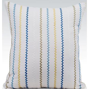 Gracious Living Vibrant Throw Pillow; Natural
