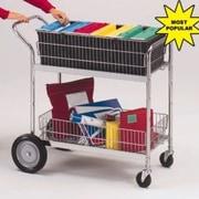 Charnstrom Medium Wire Basket File Cart