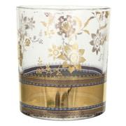 Patina Vie Patina Vie Metallic Lace Cocktail Glass (Set of 4)