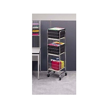 Charnstrom Tall Compact Office File Cart
