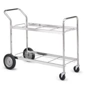 Charnstrom Long Double Decker File Cart