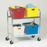 Charnstrom Tote File Cart; 41.5'' H x 21.5'' W x 44'' D