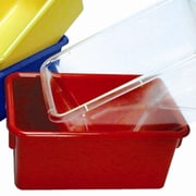 Steffy Tote Cubby Tray; Red