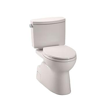 Toto Vespin II High Efficiency 1.28 GPF Elongated Two-Piece Toilet; Sedona Beige