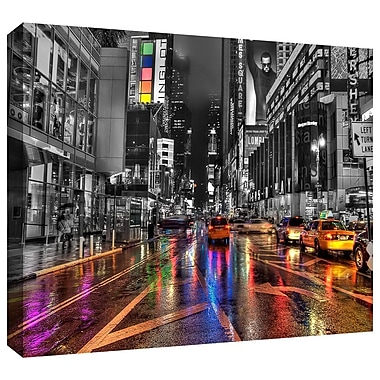 ArtWall 'NYC' by Revolver Ocelot Photographic Print on Wrapped Canvas; 24'' H x 36'' W