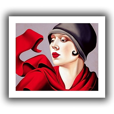 ArtWall Autumn Zephyr' by Catherine Abel Graphic Art on Rolled Canvas; 24'' H x 28'' W