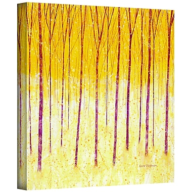 ArtWall 'Fairy Forest' by Herb Dickinson Painting Print on Wrapped Canvas; 18'' H x 18'' W