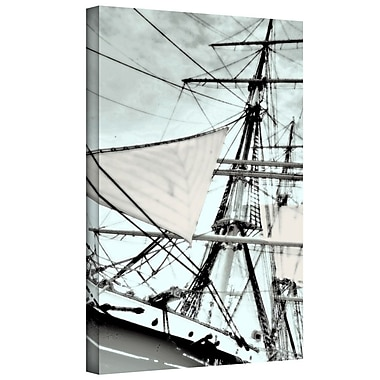 ArtWall 'Sailing on Star of India III' by Linda Parker Photographic Print on Wrapped Canvas