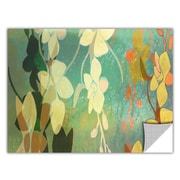 ArtWall ArtApeelz 'Shadow Florals' by Jan Weiss Graphic Art Removable Wall Decal