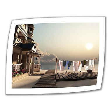 ArtWall Laundry Day' by Cynthia Decker Photographic Print on Rolled Canvas; 22'' H x 28'' W