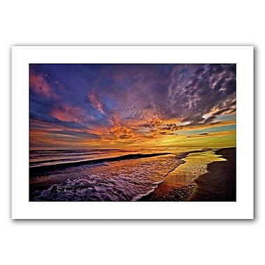 ArtWall The Sunset' by Antonio Raggio Vintage Advertisement on Rolled Canvas; 16'' H x 24'' W