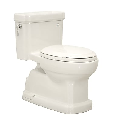 Toto Guinevere 1.28 GPF Elongated One-Piece Toilet; Colonial White