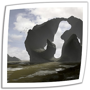 ArtWall Low Tide' by Cynthia Decker Photographic Print on Rolled Canvas; 18'' H x 18'' W