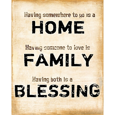 PTM Images Home Family Blessing Textual Art