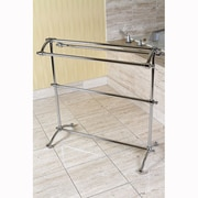 Kingston Brass Edenscape Free Standing Towel Rack; Polished Chrome