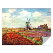 ArtWall ArtApeelz 'Windmill' by Claude Monet Painting Print Removable Wall Decal