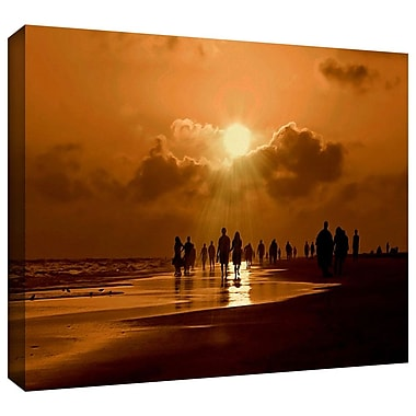 ArtWall 'Sunart1b' by Lindsey Janich Photographic Print on Wrapped Canvas; 12'' H x 18'' W