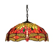 Chloe Lighting Empress 2-Light Bowl Pendant