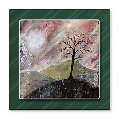 All My Walls 'Sunset' by Rachael Caringella Painting Print Plaque