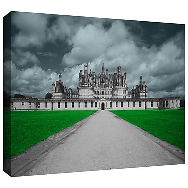 ArtWall 'Castle' by Revolver Ocelot Photographic Print on Canvas; 16'' H x 24'' W