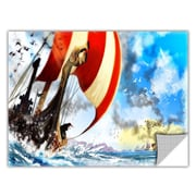 ArtWall ArtApeelz 'Old Times 3' by Luis Peres Graphic Art Removable Wall Decal