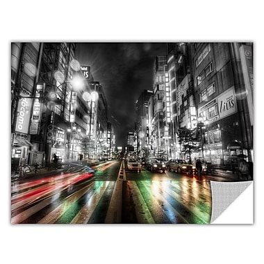 ArtWall ArtApeelz 'Tokyo Night' by Revolver Ocelot Photographic Print Removable Wall Decal